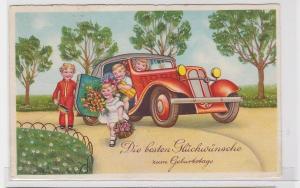87976 Glückwunsch AK Die besten Glückwünsche zum Geburtstage 1936
