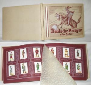 Zigarettenbilderalbum Deutsche Krieger aller Zeiten (ZVAB1966)