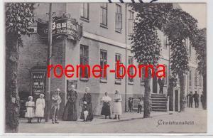 85425 Ak Christiansfeld Dänemark Sønderjylland Gasthof der Brüdergemeinde 1913