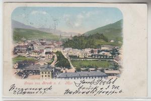 07457 Ak Gruss aus Bruck an der Mur Totalansicht 1903