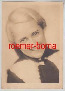 74361 Foto Ak Schauspielerin Lieselotte Liefeld um 1950