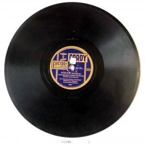 112195 Schellackplatte Cordy