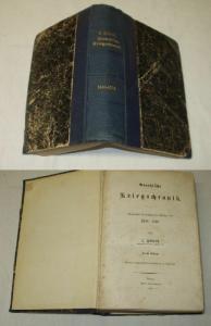 Preussische Kriegschronik - Feldzüge von 1640-1850, Emil Deckmann 1864 (Nr.6410)