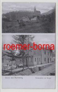 74695 Mehrbild Ak Gruss aus Dürrnberg Restauration zur Sonne um 1910