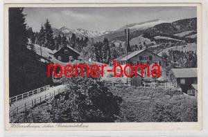 86219 Ak Walserschanze, österreich. Grenzwirtshaus um 1930