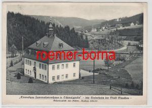 75729 Ak Ehemaliges Kammerherrenhaus in Schmalzgrube jetzt Glauchauer Kinderheim