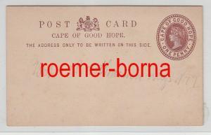 67697 seltene Ganzsachen Postkarte Cape of Good Hope Kap der guten Hoffnung 1882