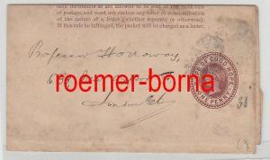 75857 alter Ganzsachen Brief Cap of good Hope Kap der guten Hoffnung um 1890