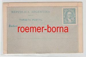 74440 seltene Reklame Ganzsachen Postkarte Argentinien 3 Centavos um 1900
