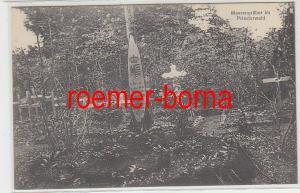 79650 Ak Massengräber im Priesterwald im 1.Weltkrieg 1915