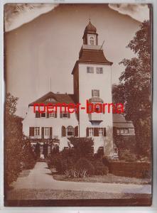 76700 Original Foto Glaubitz Schloss um 1930