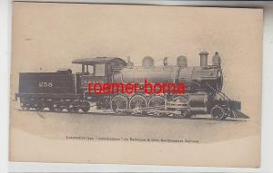 71786 Ak Dampf Lokomotive Baltimore & Ohio Southwestern Railroad um 1910