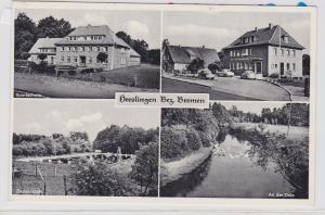 85303 Mehrbild Ak Heeslingen Bez.Bremen Sportschule, Badeanstalt usw.