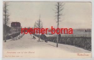 79476 Ak Rotterdam Panorama van af den Heuvel um 1900