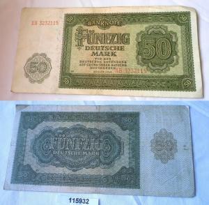 50 Mark Banknote DDR Deutsche Notenbank 1948 (115932)