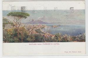 70460 Ak Naples (Neapel) from Parker´s Hotel 1925