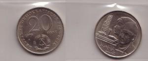 DDR Gedenk Münze 20 Mark 30.Jahrestag der DDR 1979 (110785)