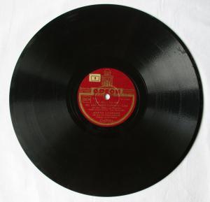 102687 Odeon Schellackplatte ZARAH LEANDER Du kannst es nicht wissen... um 1930