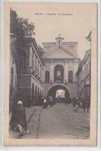 71192 Feldpost Ak Wilna Kaplica Ostrobramska 1916