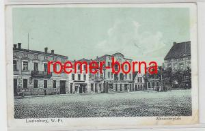39381 Feldpost Ak Lautenburg Westpreussen Alexanderplatz 1914