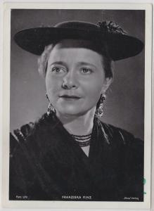 70616 Autograph Foto Deutsche Schauspielerin Franziska Hinz um 1935