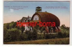 80898 Ak Riesenfaß m. Gastwirtschaft am Jaberlich b. Reichenberg Sudetengau 1942