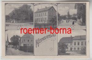 78562 Mehrbild Ak Kleinbardau Materialwarenhandlung, Dorfstrasse 1911