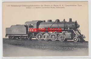 53928 Ak Hanomag Dampf Lokomotive Der Boston & Maine R.R.Consolidation Type