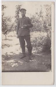 84799 Foto Ak Soldat der Feldfliegerabteilung 34 Mazedonien um 1915