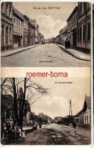 80079 Mehrbild Ak Gruss aus Reppen Richterstrasse und Sternbergerstrasse 1908