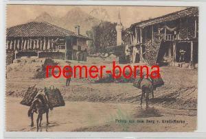 73550 Ak Prilep (Mazedonien) mit dem Berg von Krali-Marko 1917