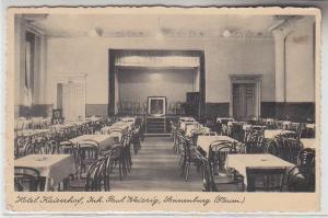 70486 Ak Sonnenburg Neumark Hotel Kaiserhof um 1940