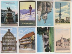 100 interessante alte Ansichtskarten um 1910-1940 (B) (65822)