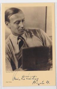 83373 Autograph Karte Deutscher Schauspieler Günther Lüders 1939