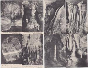 68771/8 Ak Jenolan N.S.W. Australien Höhlenansichten 1914