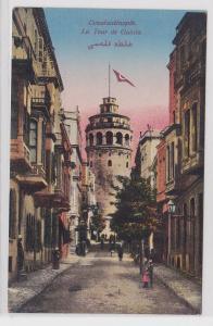 87346 AK Constantinople - La Tour de Galata (Galataturm) um 1910