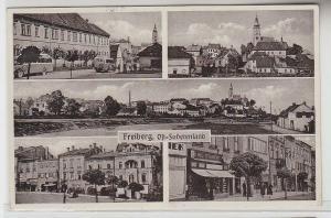 66860 Mehrbild Ak Freiberg Ost-Sudetenland 1939