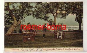 77784 Ak Hongkong Art der Beförderungen Bergstühle und Jin-Rikschas um 1900