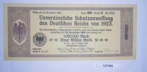 1 Million Reichsmark Schatzanweisung des Deutschen Reichs Berlin 1923 (127456)