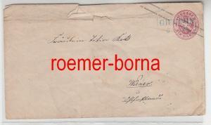 75280 alter Ganzsachen Brief Preussen 1 Silbergroschen Gifhorn