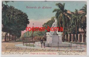 84908 Ak Recuerdo de Habana Havanna Parque de la India um 1900
