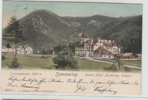 69143 Ak Semmering Grand Hotel