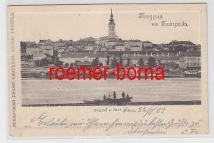73328 Ak Belgrad und Save 1901