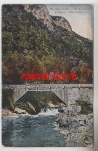 71287 Ak Herkulesfürdö Rumänien Wasserfallbrücke um 1910