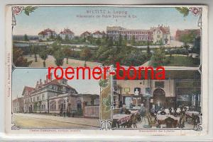 80839 Mehrbild Ak Milititz bei Leipzig Villenkolonie usw. 1909