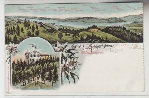 70174 Mehrbild Ak Gruß von der Gebhardshöhe Walzenhausen um 1900