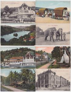 83846/8 Ak Colombo Sri Lanka Ceylon Ortsansichten 1914