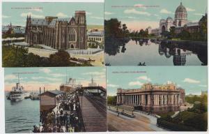 82829/4 Ak Melbourne Australien Ortsansichten 1914