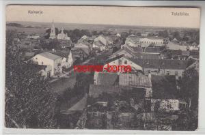 49440 Feldpost Ak Kalvarje Kalvarija in Litauen Totalblick 1916