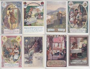 68484/8 Ak Bund der Deutschen in Niederösterreich um 1915